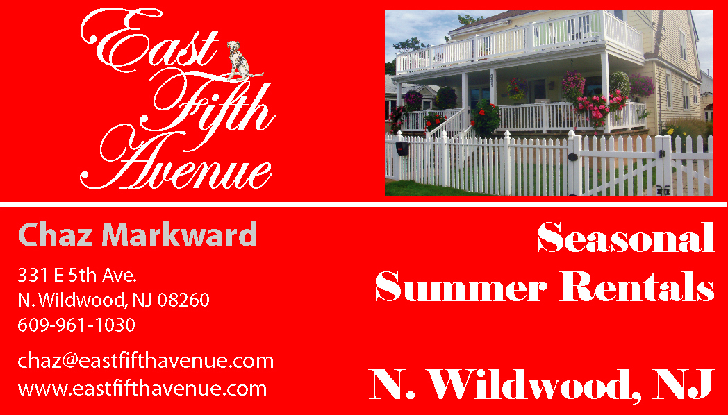 BUSINESS CARD fifth avenue pic